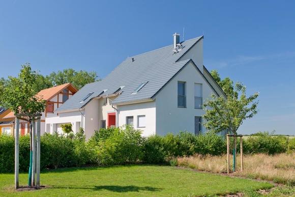 Modernes Einfamilienhaus in Rohrborn, Thüringen.