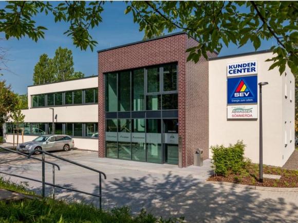Neubau Geschäftshaus, SEV Sömmerda