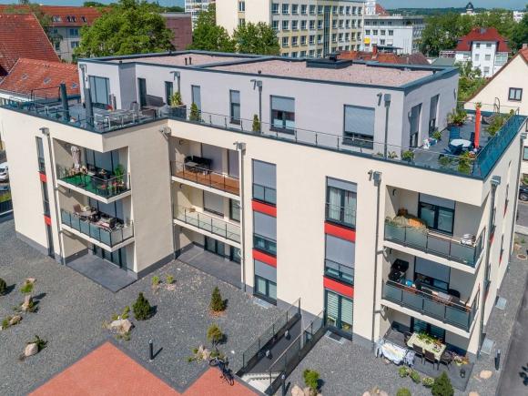 Neubau Mehrfamilienhaus Sömmerda