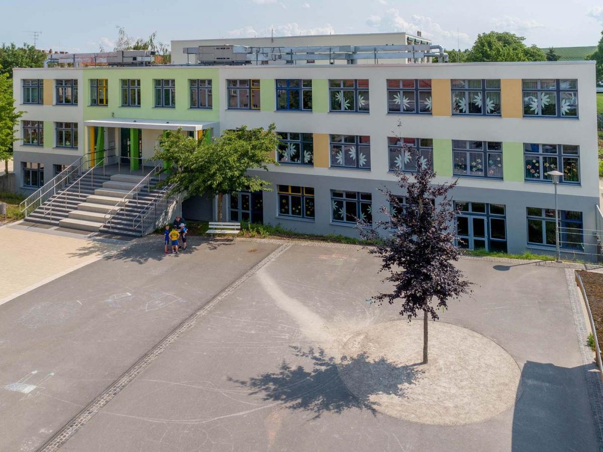 Fassadensanierung Grundschule Kindelbrück