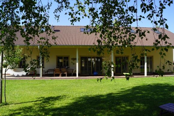 Einfamilienhaus im Landhausstil in Thüringen.